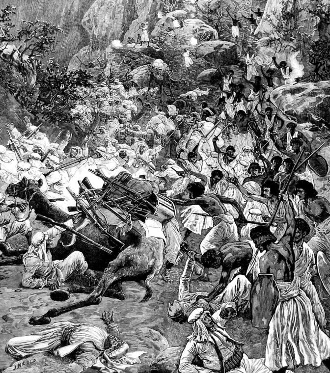 Die Belagerung von Sinkat – IM SUDAN 1883 / 1884