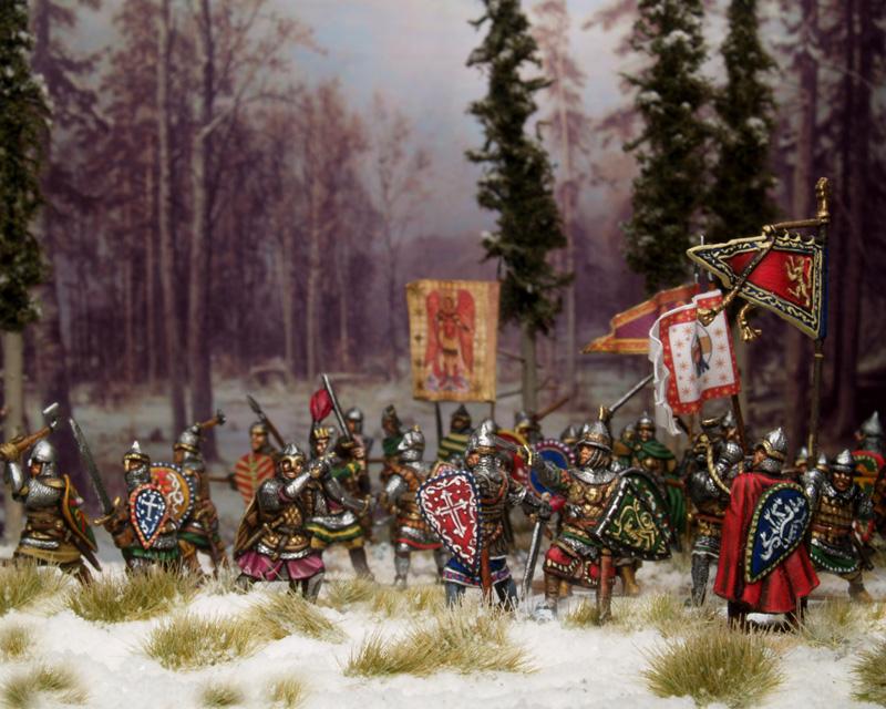 Timourides,Russes,Safavides,Ilkhanides............. Russische-figuren-17