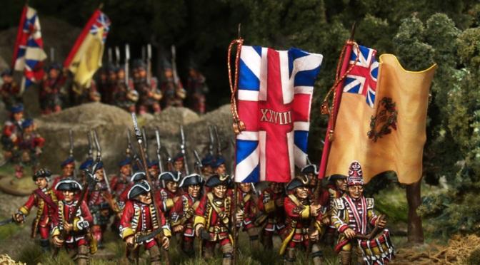 Britische Truppen – French and Indian War