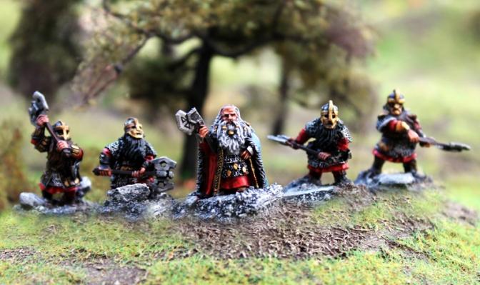 SAGA – Der Herr der Ringe / Armeeliste Zwerge