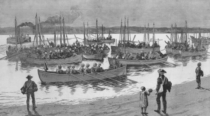 Die Boote der Nil Expedition (Teil 1) / Im Sudan