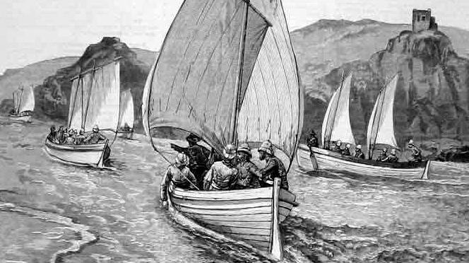 Die Boote der Nil Expedition (Teil 2) / Im Sudan