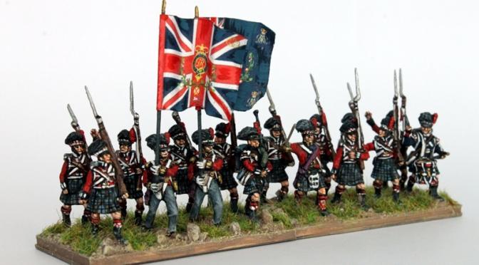 Britische Armee 1815 / Teil 1