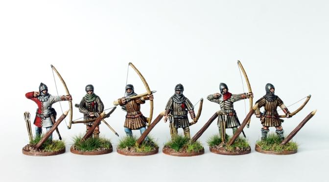 Englische Bogenschützen 1415-1429