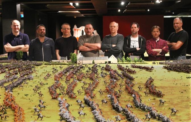 Waterloo in Celle – Der Aufbau eines Dioramas