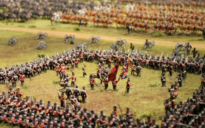 Waterloo in Celle – Das Diorama