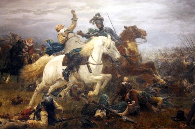 Schlachtfeld Lützen 1632