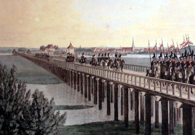 Napoleonische Kriege in Norddeutschland – Verkehrswege (Teil 3)
