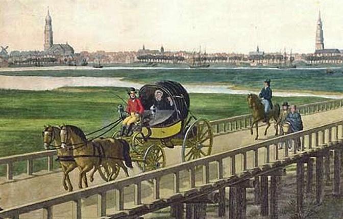 Napoleonische Kriege in Norddeutschland – Verkehrswege (Teil 1)