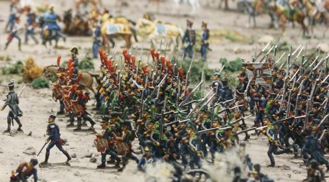 Großgörschen 1813 – Teil 3 / Die Schlacht im Diorama