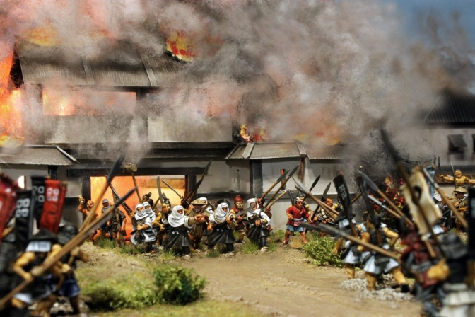 Die Belagerung von Nagashima