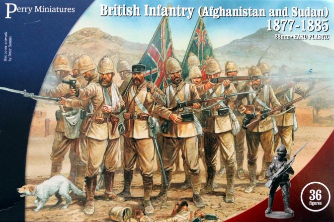 British Infantry Sudan / Perry Miniatures