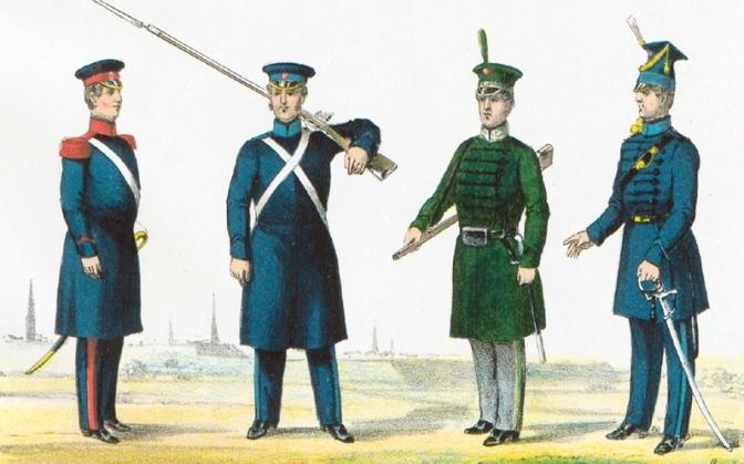 Napoleonische Kriege in Norddeutschland – Hanseatische Bürgergarde