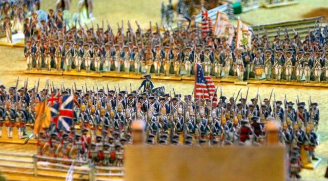 Die Schlacht von Mansfield