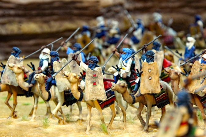 Tuareg (Teil 2) – Miniaturen in 28mm