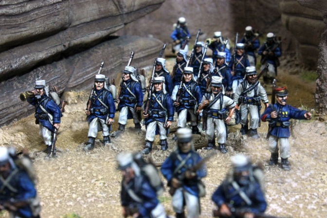 Fremdenlegion – Miniaturen in 28mm