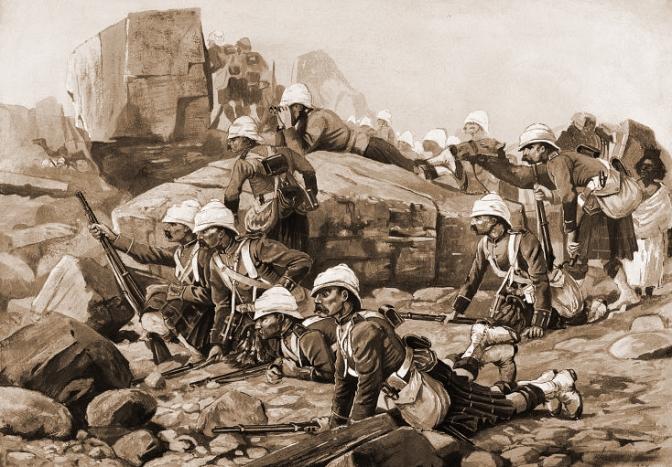 Die Schlacht von Giniss