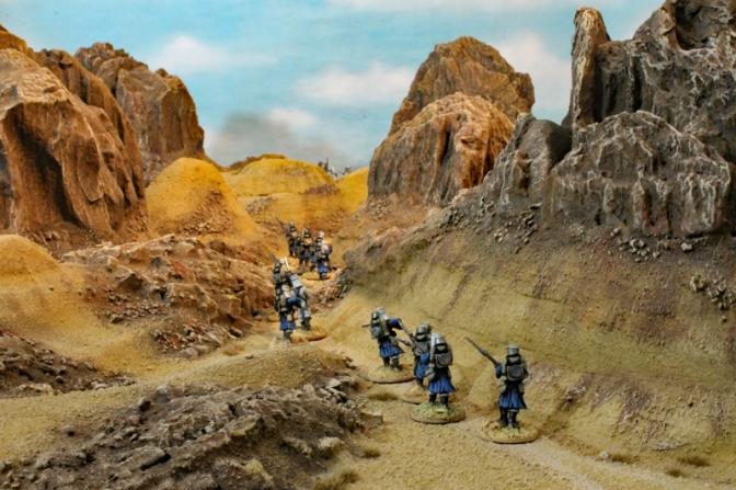 Die Spielplatte – Söhne der Wüste