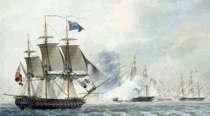 Napoleonische Kriege in Norddeutschland – Die Britische Flotte / Teil 2