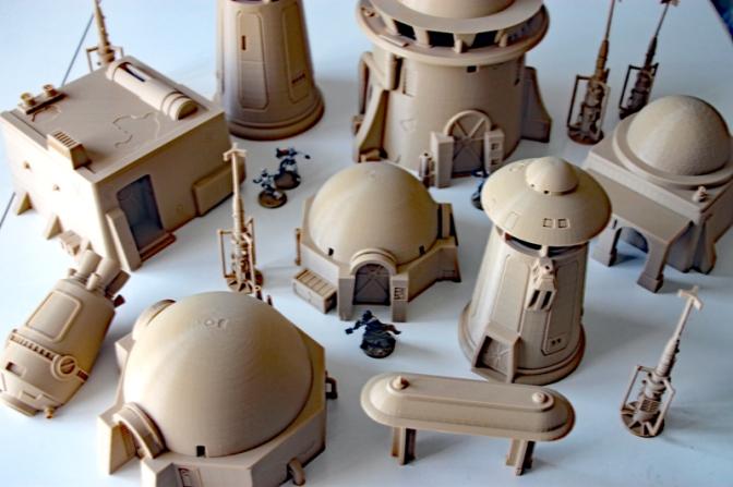 Star Wars Gelände – 3D