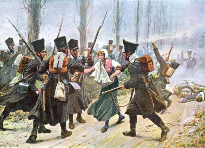 Napoleonische Kriege in Norddeutschland – Gefecht bei Lüneburg 1813