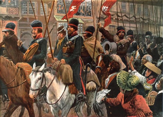 Napoleonische Kriege in Norddeutschland – Kosaken