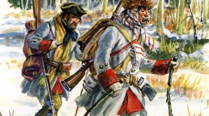 French-and-Indian-War / Kanadische Miliz