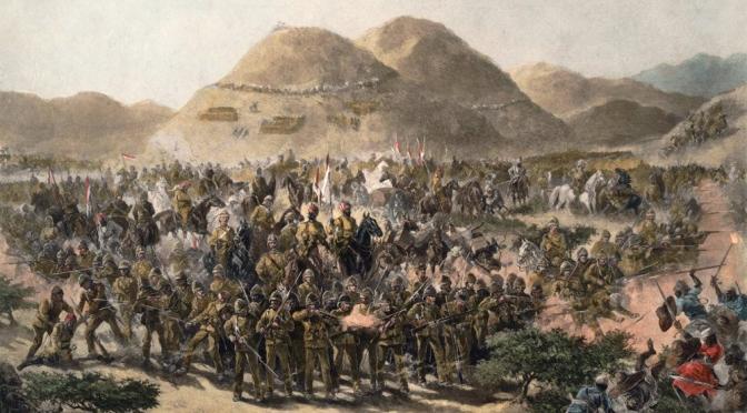 Die Schlacht von Hashin – 20. März 1885