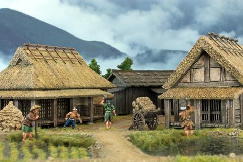 Japanisches Dorf