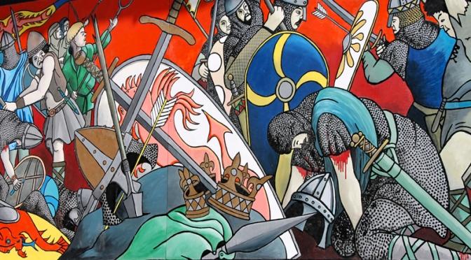 Das Schlachtfeld von Hastings